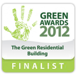 2012 Green Award Finalist badge